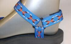 pánské sandále Jola / pásky modré kříže