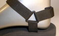 sportovní sandále Jola / pásky jen černé