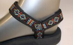 barevné sandále Jola / pásky indiánské